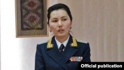 Аида Салянова (сүрөт Салянова башкы прокурор кезинде тартылган).
