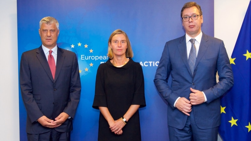 Brussels Hosts Serbia, Kosovo Leaders For 'Difficult' Normalization Talks