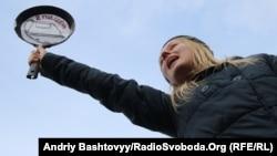 Марш за права жінок, Київ, 8 березня 2013 року