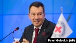 Predsjednik Međunarodnog komiteta Crvenog križa Peter Maurer