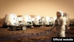 Мадэль асяродзьдзя на Марсе