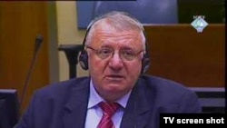 Serb war crimes suspect Vojislav Seselj in court at The Hague