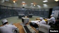 Кімната управління Запорізької АЕС. Квітень 2013 року