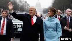 Дональд Трамп жана жубайы Малания Трамп