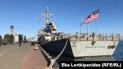 Есмінець зайде в порт Одеси