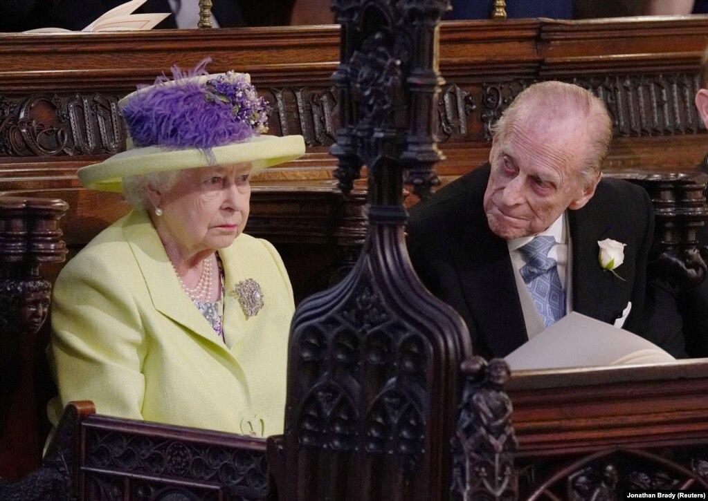 Королева Єлизавета II та її чоловік принц Філіп