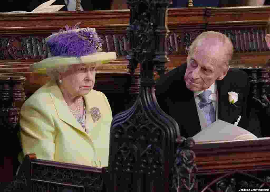 Королева Елизавета II и ее супруг принц Филипп