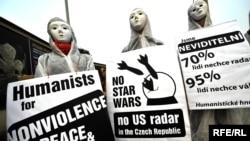 Чехия. Протесты против размещения радара ПРО