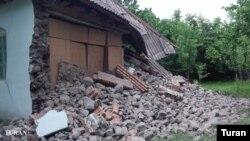 Самое сильное землетрясение произошло в Азербайджане, в 25 километрах от границы с Грузией