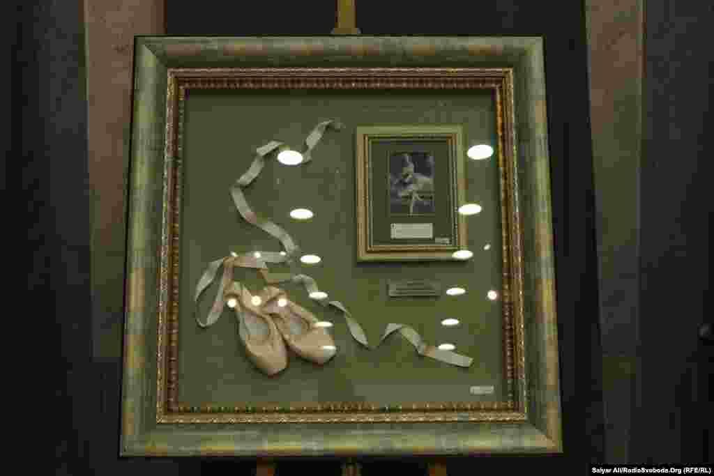 Пуантиоднієї з найвидатніших балерин XX століття Анни Павлової