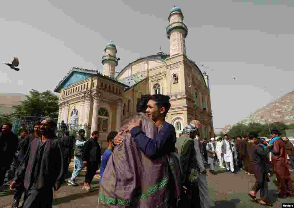 Кабулдағы (Ауғанстан) Ораза айт мейрамы. 15 маусым 2018 жыл.