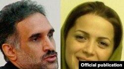 نازنین خسروانی و احمد حکیمی