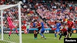 Fotografi nga ndeshja: Turqi - Kroaci në Paris