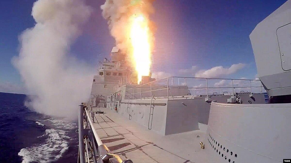 Российский фрегат проводит учебные стрельбы в Черном море – СМИ