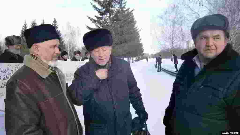Раиф Галиев (с), Айдар Хәлим, Фирдәвес Хуҗин
