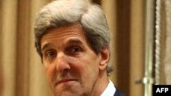U.S. Senator John Kerry visited Afghanistan twice in the last week