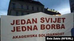 Hrvatska: Antivladini prosvjedi u Zagrebu