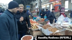 Bakıda Novruz yarmarkası. 2016