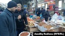 Bakıda bazar, foto arxiv