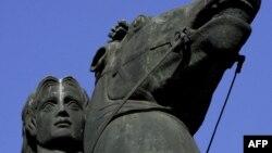 Statuia lui Alexandru cel Mare de la Salonic.