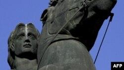 Salonik şəhərində Böyük İsgəndərin heykəli