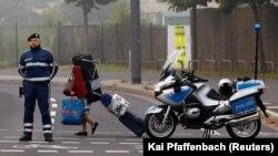 Германияның Франкфурт қаласындағы эвакуация кезі.