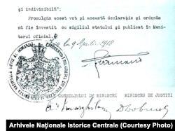 Decretul regal, 9 aprilie 1918 (p. 2)