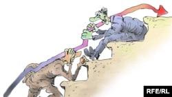 Karikaturany çeken Mihail Zlatkow