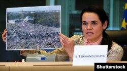 سویتلانا تیخانوفسکایا، رهبر مخالفان سیاسی بلاروس