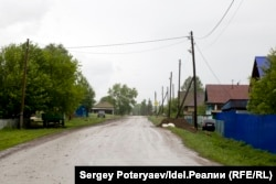 Главная дорога в марийской деревне Верхний Бугалыш