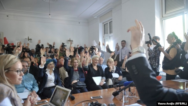 Janković jednoglasno izabran za predsednika
