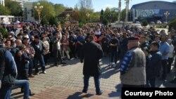 Акция против назначения Дмитрия Трапезникова, архивное фото
