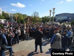 Протесты в Элисте