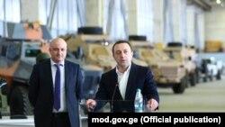 Зураб Азарашвили и Ираклий Гарибашвили