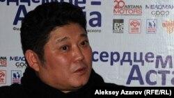 Қазақстандық режиссер Рүстем Әбдірашев. Алматы, 23 ақпан 2012 жыл.