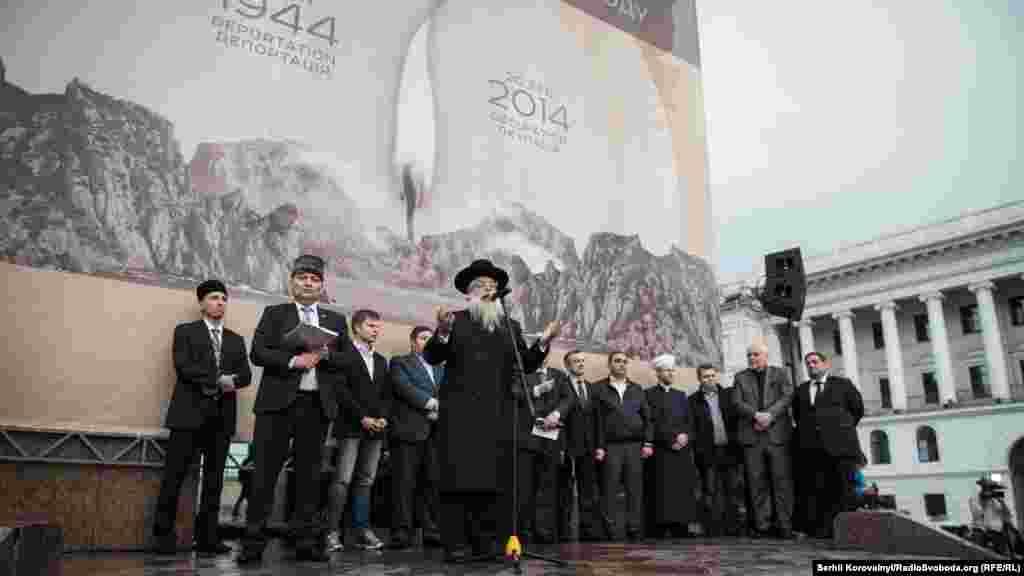 Головний рабин України говорить про схожість трагічної долі кримських татарів і євреїв