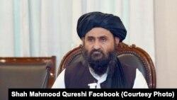 ملا عبدالغنی برادر، معاون گروه طالبان و رئیس دفتر سیاسی این گروه در قطر