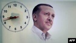 Afiș electoral din Turcia