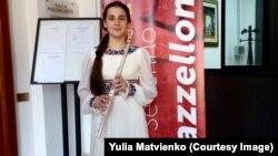 Sofia Matvienko în Italia, Premiul I la Concursul Severino Gazzelloni