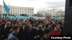 Акмәчет, 10 декабрь 2012 ел. Рефат Чубаров фотосы