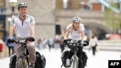 Иногда по Лондону лучше ездить на велосипеде.