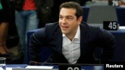 Алексис Сипрас дар Парлумони Аврупо