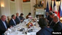 Під час зустрічі міністрів у Берліні, 11 травня 2016 року