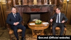 Întâlnirea dintre prim-miniștrii Dmitri Medvedev și Ion Chicu la Moscova, 20 noiembrie 2019