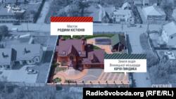 Будинок на ділянці Юрія Пиндика зареєстрований на сина Володимира Кістіона Дмитра