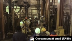Russia's Perm Krai and the city of Solikamsk are mourning the loss of nine workers killed in a mine fire.