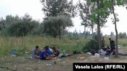 Azijski migranti u Srbiji, jul 2015.