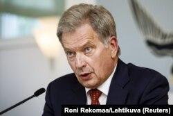 Президент Фінляндії Саулі Нійністе