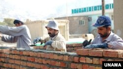 A UNAMA photo of new construction in the Khair Khana area of Kabul. (file photo)
