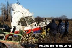 Разбор обломков рейса MH17, ноябрь 2014 года